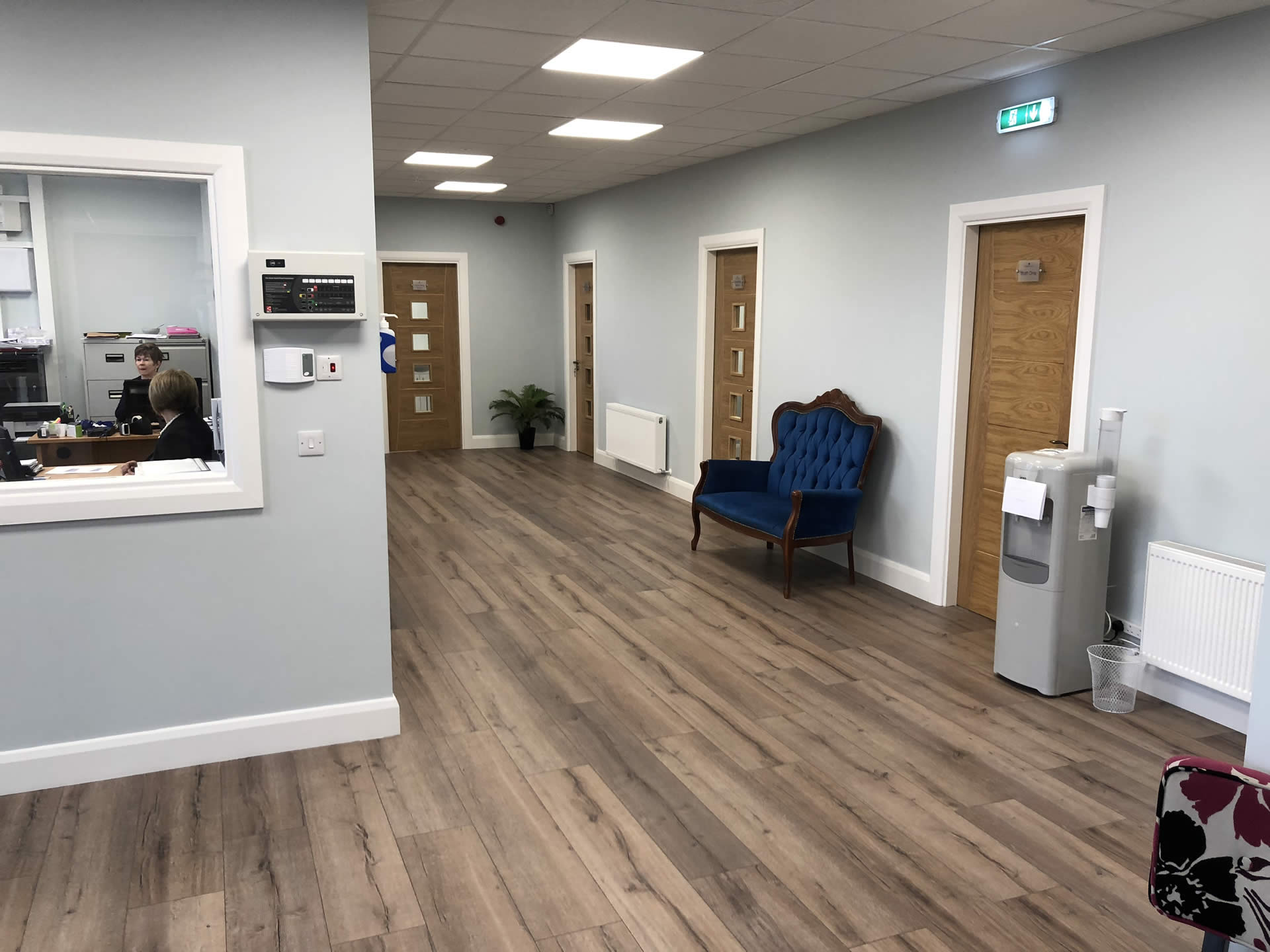 Inside Steamboat Eye Clinic Limerick